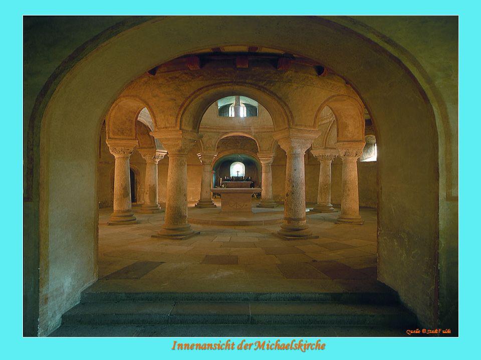 Innenansicht der Michaelskirche Quelle: © Stadt F ulda