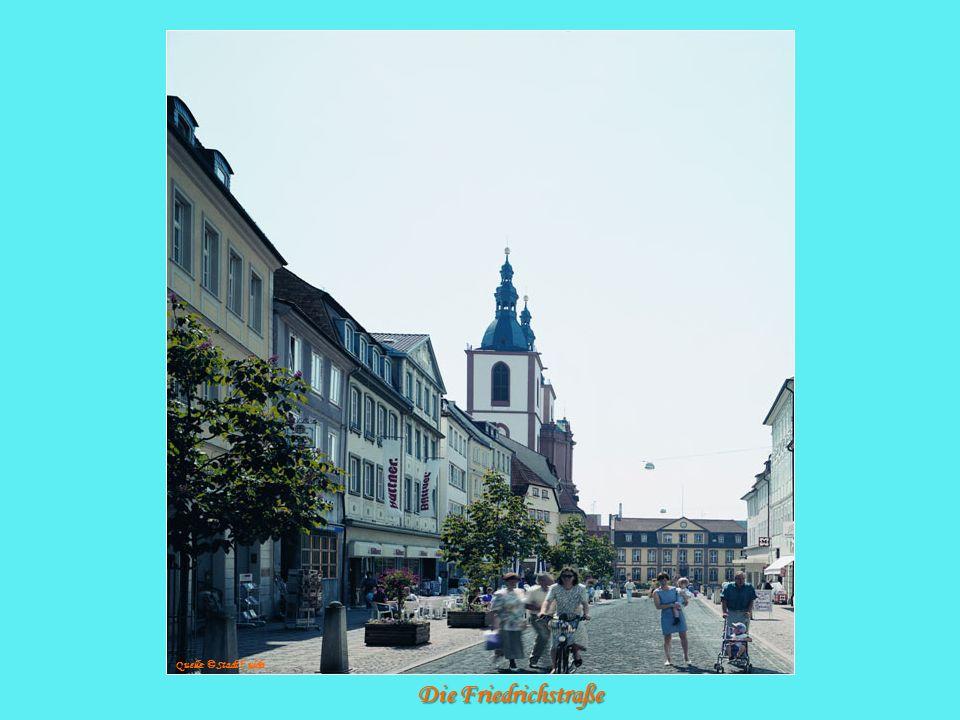 Die Friedrichstraße Quelle: © Stadt F ulda