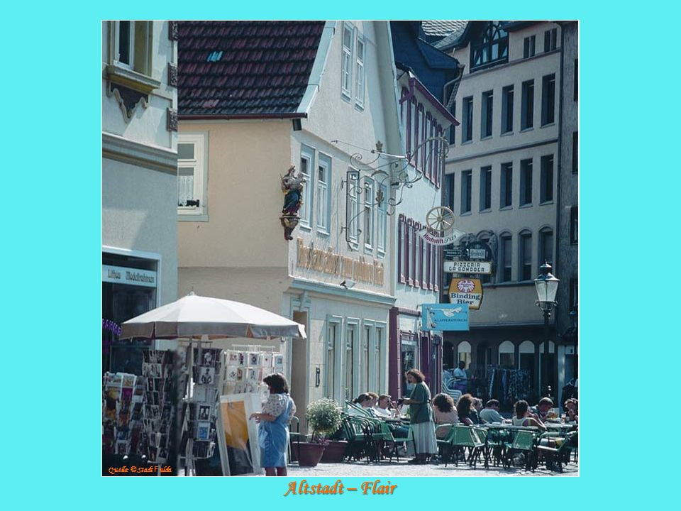 Altstadt – Flair Quelle: © Stadt F ulda