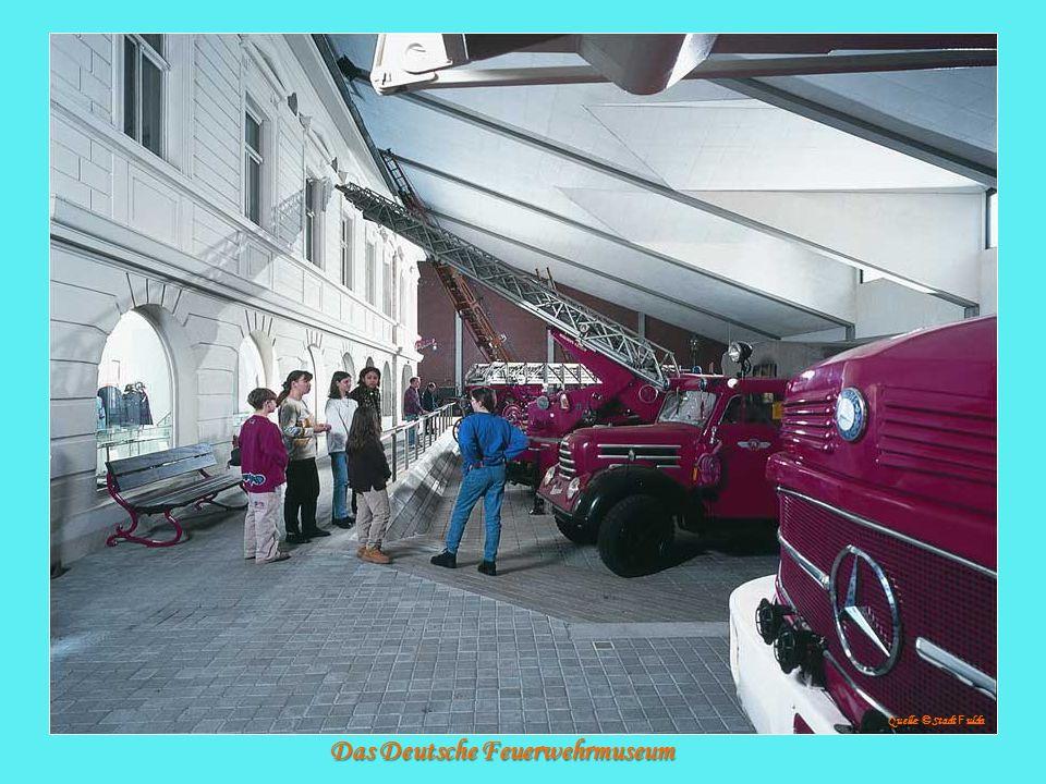 Das Deutsche Feuerwehrmuseum Quelle: © Stadt F ulda