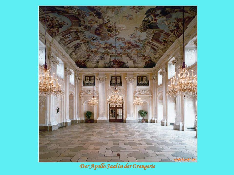 Der Apollo Saal in der Orangerie Quelle: © Stadt F ulda