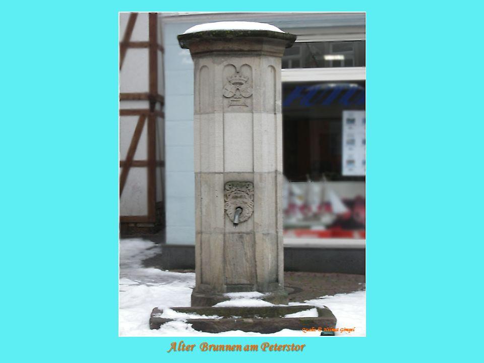 Alter Brunnen am Peterstor Quelle: © Helmut Gömpel