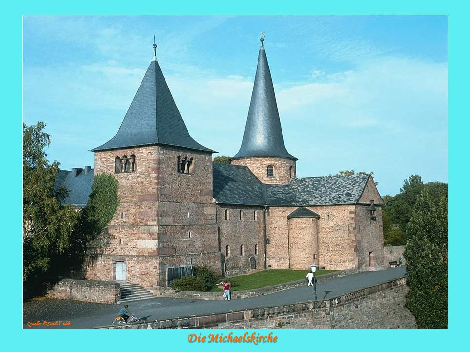 Die Michaelskirche Quelle: © Stadt F ulda