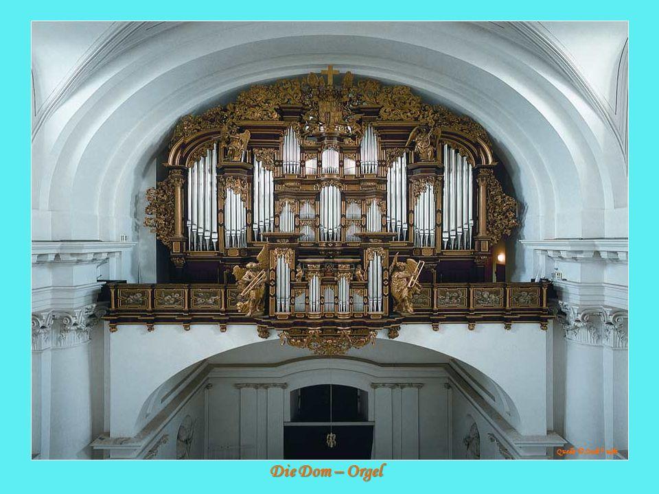Die Dom – Orgel Quelle: © Stadt F ulda