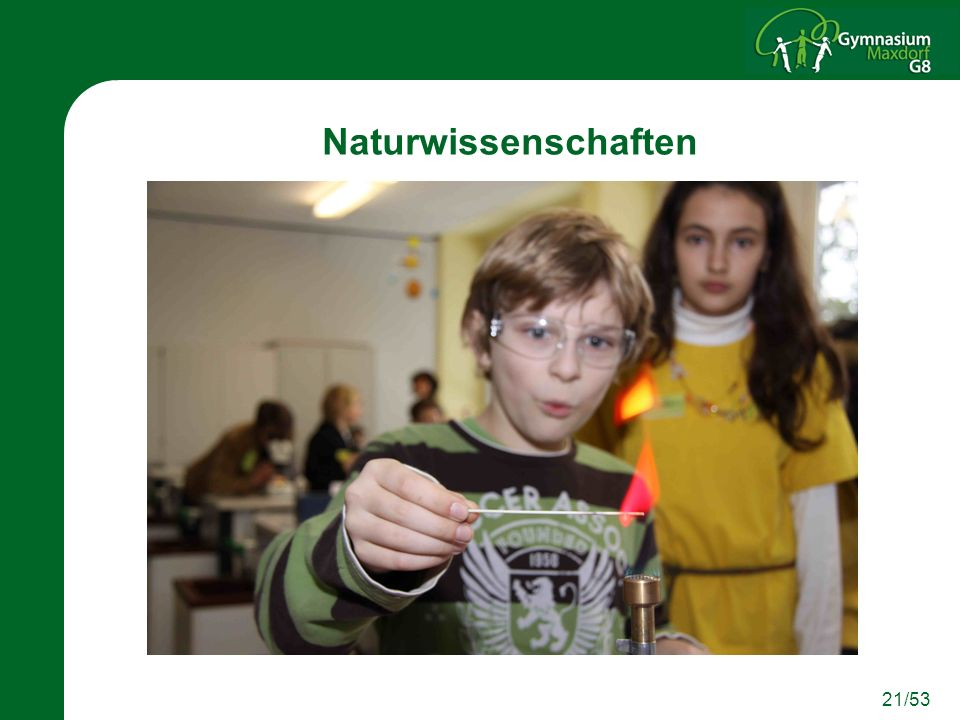 21/53 Naturwissenschaften
