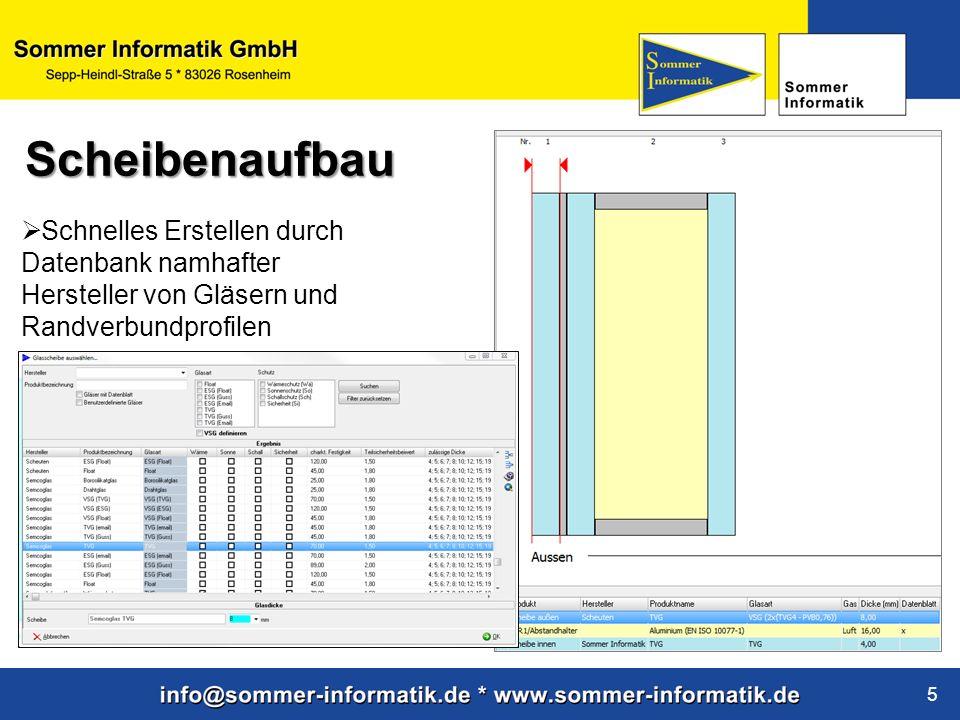 www.sommer-informatik.de 6 Durch die Verbindung mit Google Earth werden mittels Adresse und Gebäudedaten die genauen Wind- und Schneelasten ermittelt Wind- und Schneelast