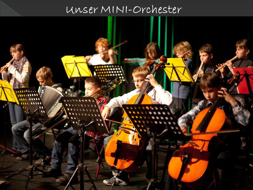 Unser MINI-Orchester