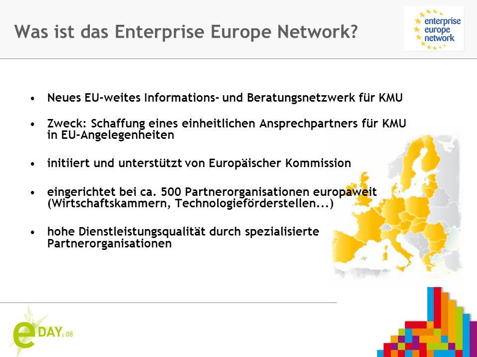 Firmenlogo Was ist das Enterprise Europe Network.