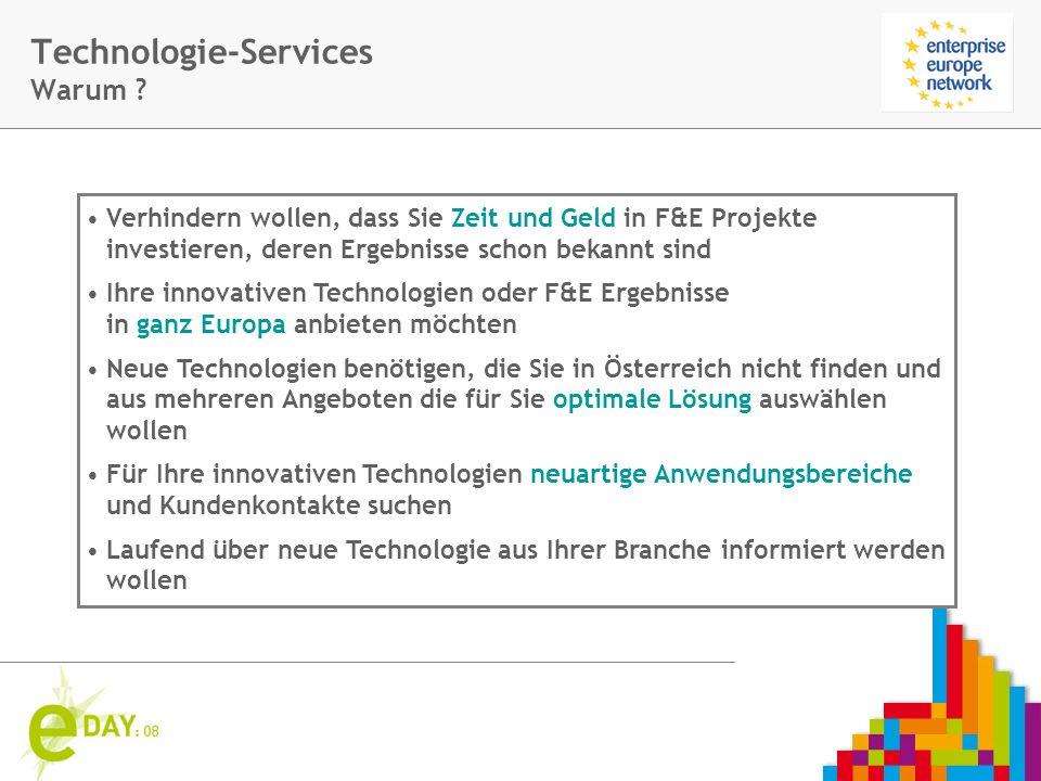 Firmenlogo Technologie-Services Warum .