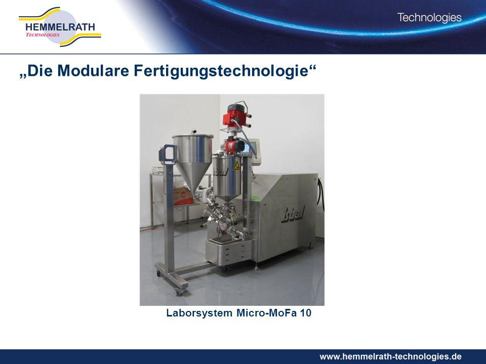 Laborsystem Micro-MoFa 10 Die Modulare Fertigungstechnologie