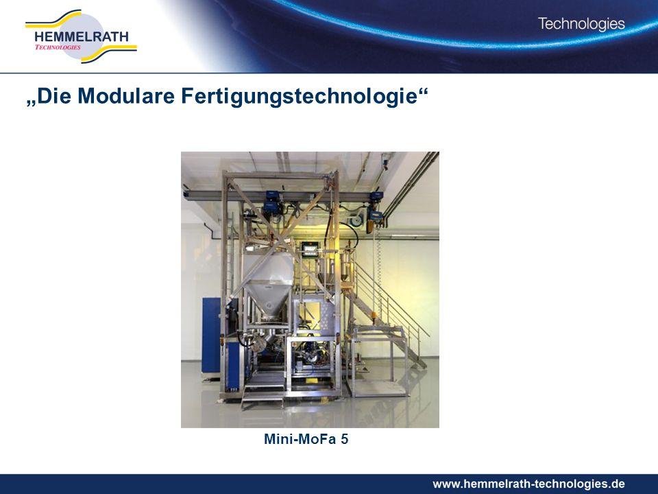 Mini-MoFa 5 Die Modulare Fertigungstechnologie