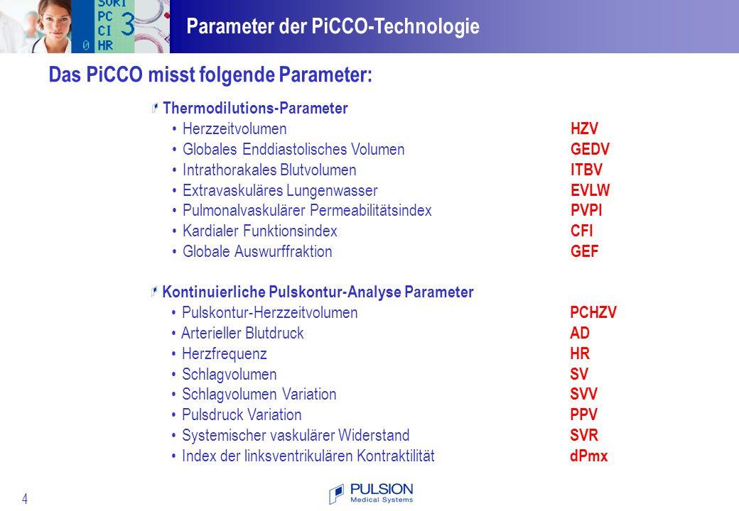 25 Pulsdruck Variation Berechnung PP max – PP min PPV = PP mittel PP max PP mittel PP min Die Pulsdruck Variation (PPV) gibt die Variation der Pulsdruckamplitude über den Atemzyklus wieder.