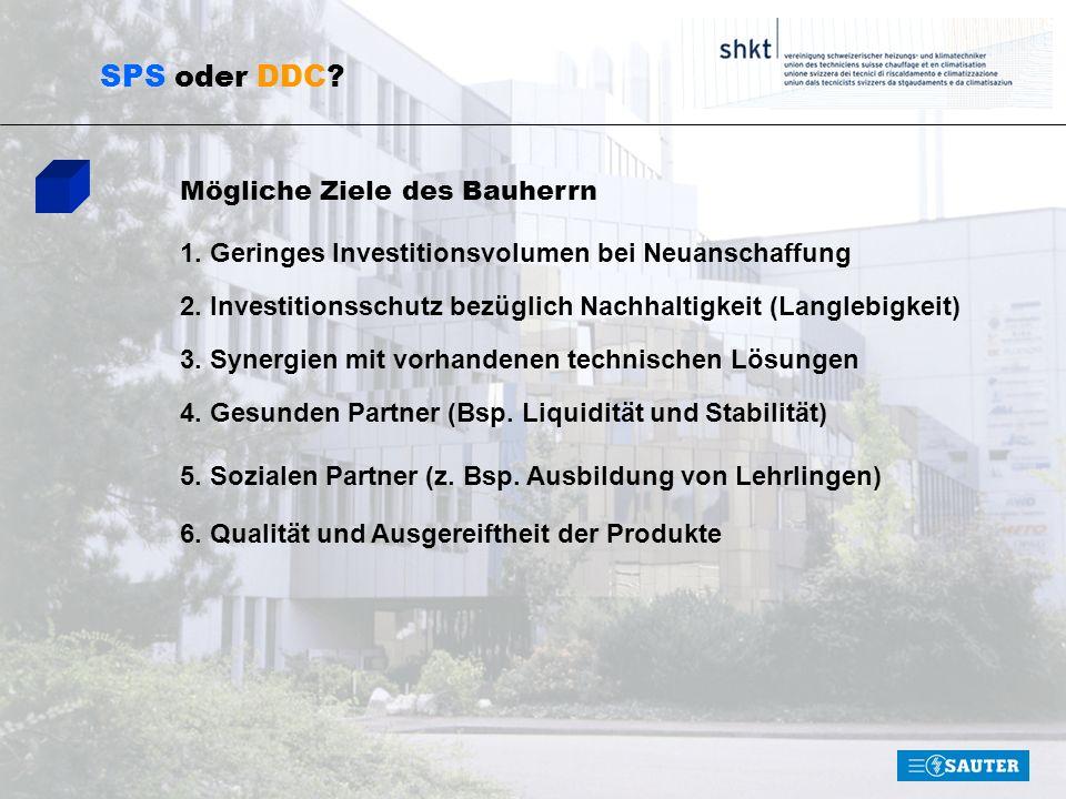 SPS oder DDC.Der Partner-Approach 1. Der Innovativste 2.