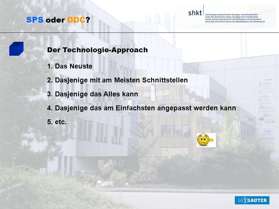 SPS oder DDC.Technologietrends 1. Ethernet 2. Offene Systemarchitekturen 3.