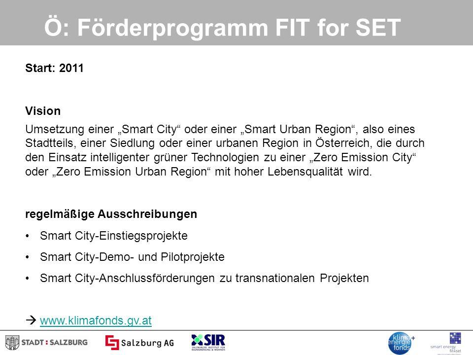 Workshop 1: Die Smart Cities: Europa, Österreich, Stadt Salzburg Helmut Strasser SIR – Salzburger Institut für Raumordnung und Wohnen Energietag, 06.