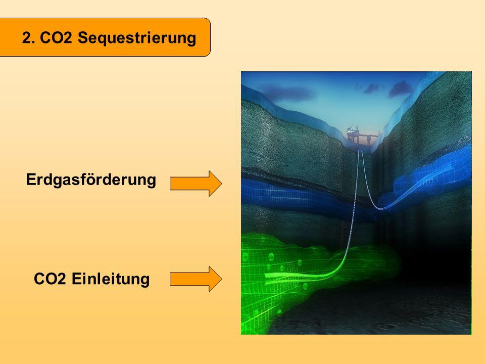 Erdgasförderung CO2 Einleitung
