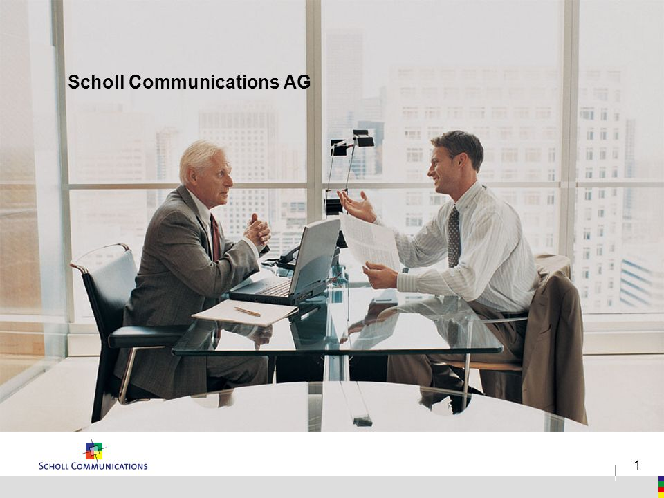 1 Scholl Communications AG