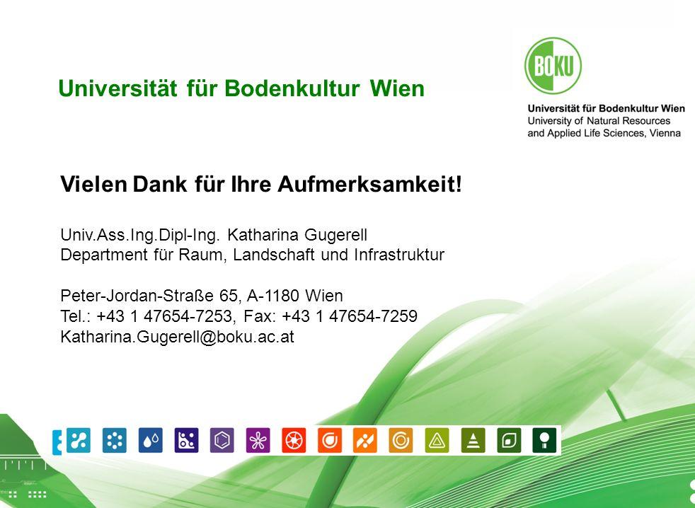 Universität für Bodenkultur Wien 16.04.2014 18 Universität für Bodenkultur Wien Vielen Dank für Ihre Aufmerksamkeit.