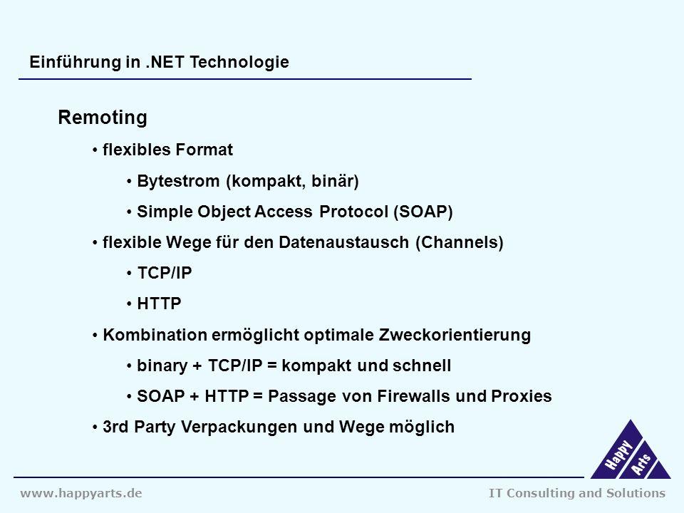 www.happyarts.deIT Consulting and Solutions Vielen Dank für ihre Aufmerksamkeit...