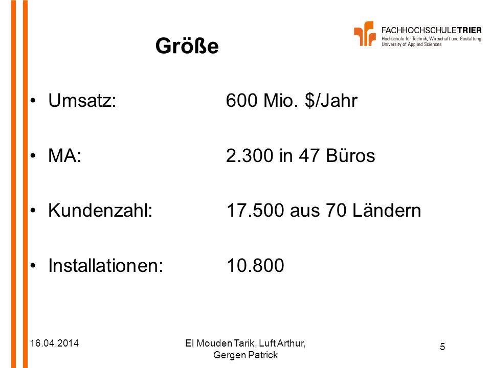 16 16.04.2014El Mouden Tarik, Luft Arthur, Gergen Patrick Technologie C.