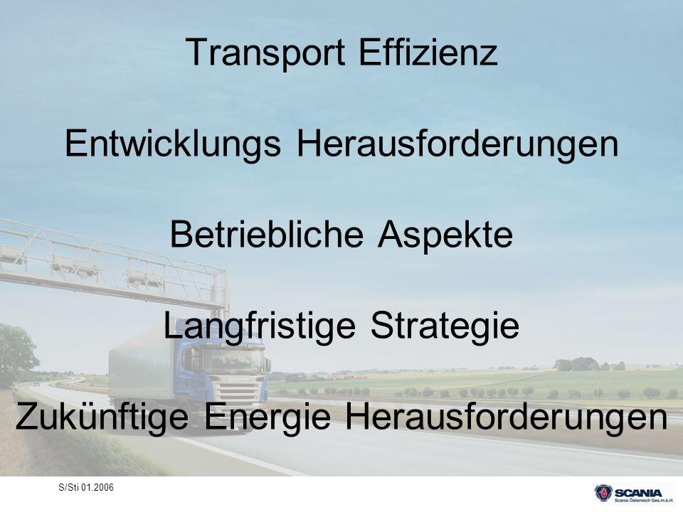 S/Sti 01.2006 Transport Effizienz Entwicklungs Herausforderungen Betriebliche Aspekte Langfristige Strategie Zukünftige Energie Herausforderungen