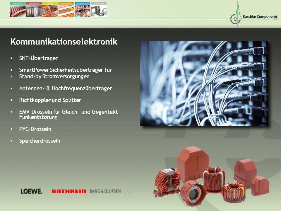 Kommunikationselektronik SNT-Übertrager SmartPower Sicherheitsübertrager für Stand-by Stromversorgungen Antennen- & Hochfrequenzübertrager Richtkopple