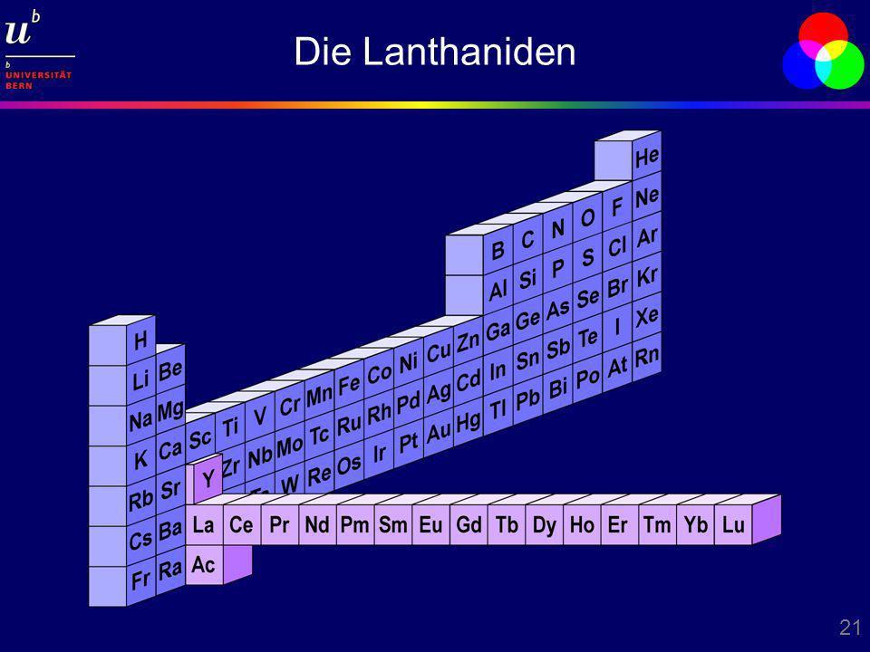 21 Die Lanthaniden