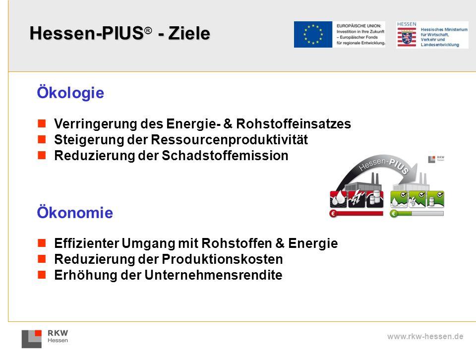 www.rkw-hessen.de Effizienter Umgang mit Rohstoffen & Energie Reduzierung der Produktionskosten Erhöhung der Unternehmensrendite Verringerung des Ener