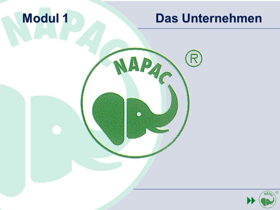 Schweizerische Unternehmung – Gründung 1995 Einführung Miscanthus Anbau – 1993 / 96 Entwicklung und Patentiertierung des NAPAC Granultats und des Heisspressverfahrens - 1996 Industrielle Fertigung des NAPAC Granulates und der Formteile – ab 1997 NAPAC Einführung