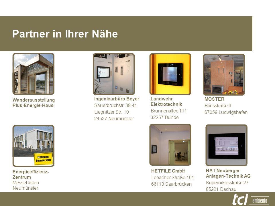HETFILE GmbH Lebacher Straße 101 66113 Saarbrücken MOSTER Bliesstraße 9 67059 Ludwigshafen Wanderausstellung Plus-Energie-Haus Partner in Ihrer Nähe I