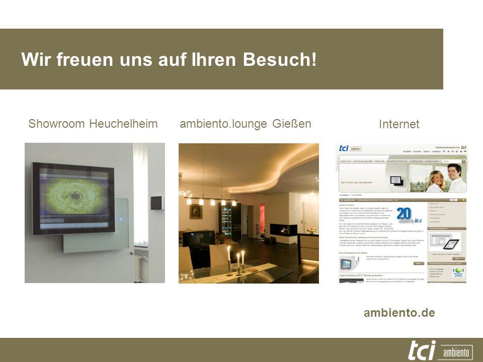 Showroom Heuchelheim Wir freuen uns auf Ihren Besuch! ambiento.lounge Gießen Internet ambiento.de