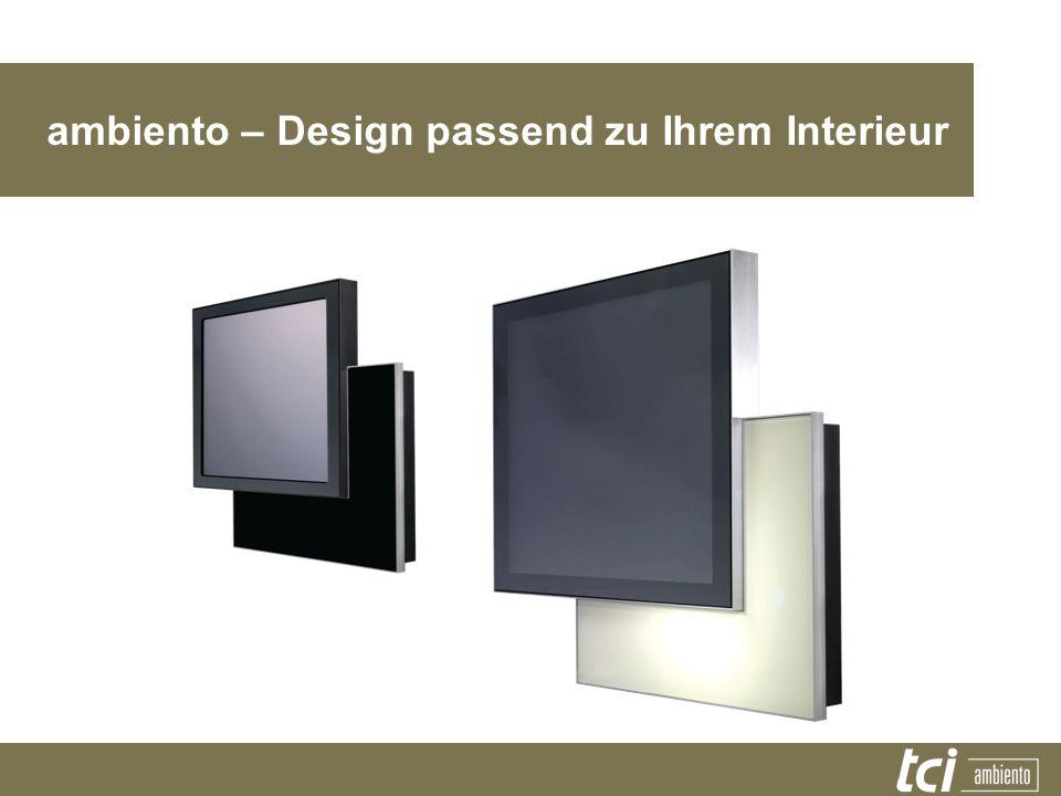 ambiento – Design passend zu Ihrem Interieur
