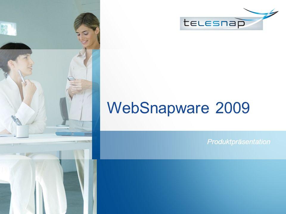 WebSnapware 2009 Produktpräsentation