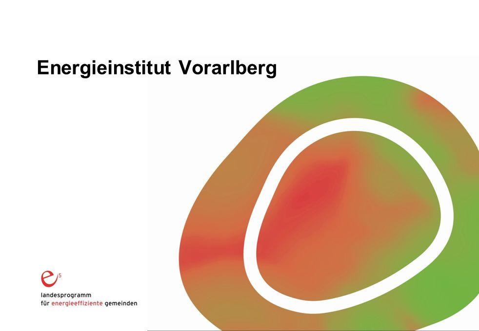 Mustervortrag EIV (Kürzel Vortragender) Energieinstitut Vorarlberg