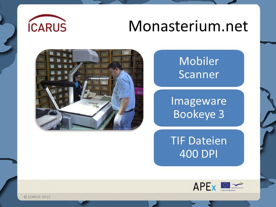 Monasterium.net eXist XML native Standardkonform Gut mit Webtechnologien kombinierbar XML EAG – Electronic Archival Guide EAD – Electronic Archival Description MOM-CEI