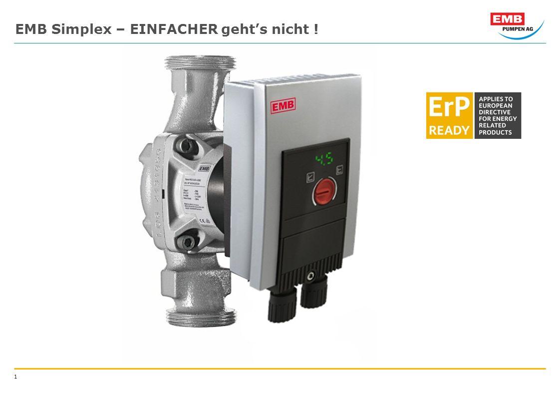 1 EMB Simplex – EINFACHER gehts nicht !