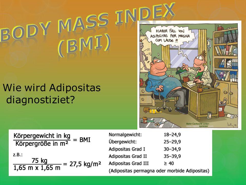 Wie wird Adipositas diagnostiziet?
