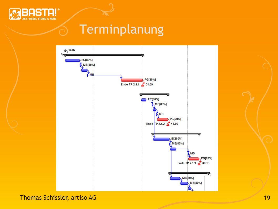 19 Terminplanung Thomas Schissler, artiso AG