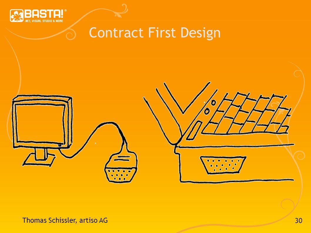 30 Contract First Design Thomas Schissler, artiso AG