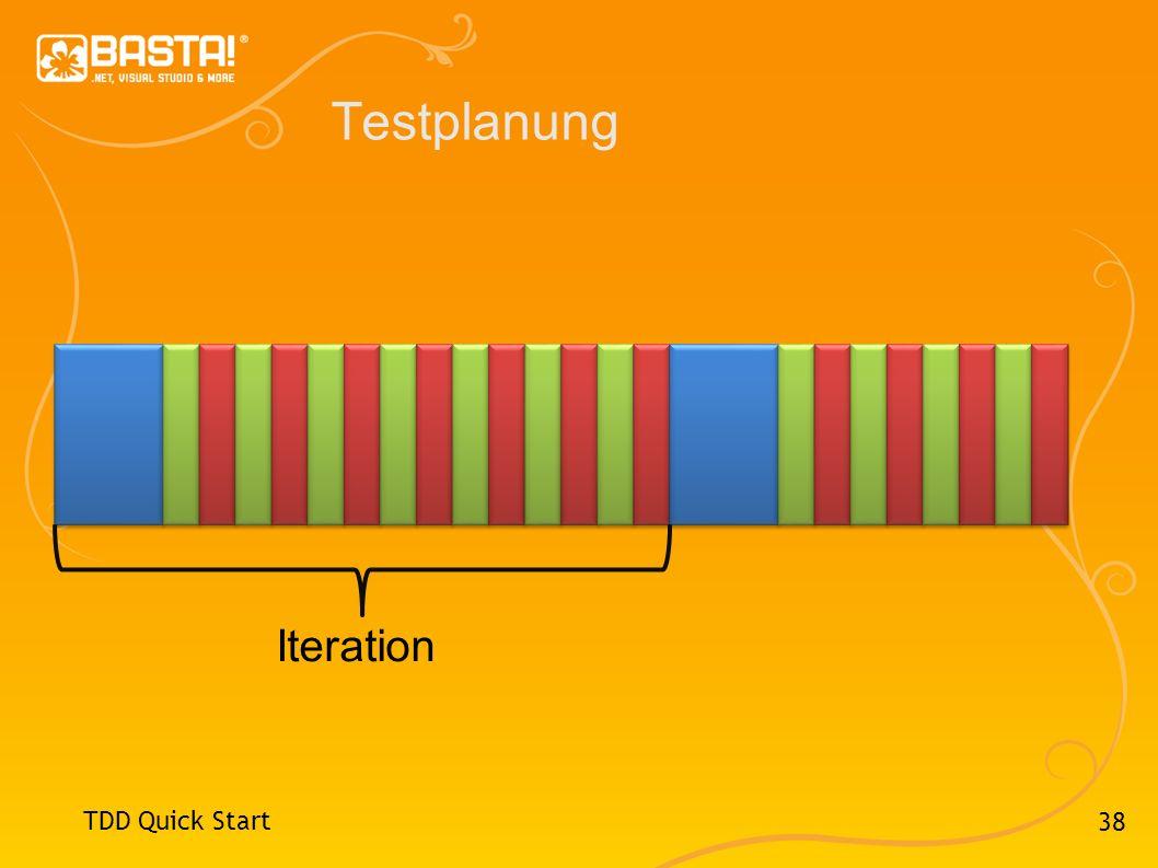 38 Testplanung TDD Quick Start Iteration