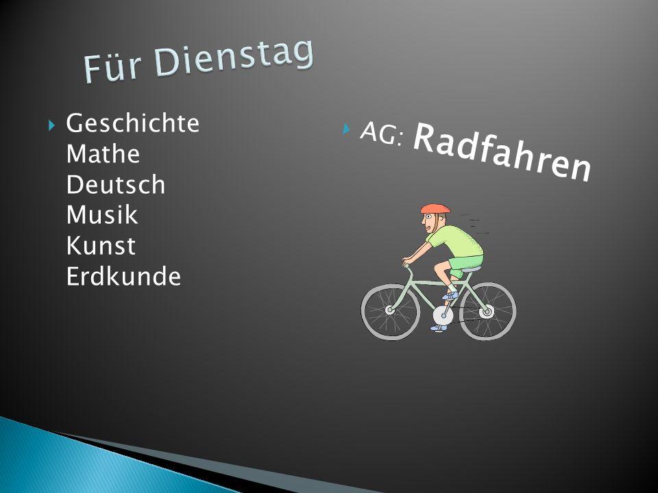 Info Sport Technologie Mathe Geschichte Ilias AG: Sport
