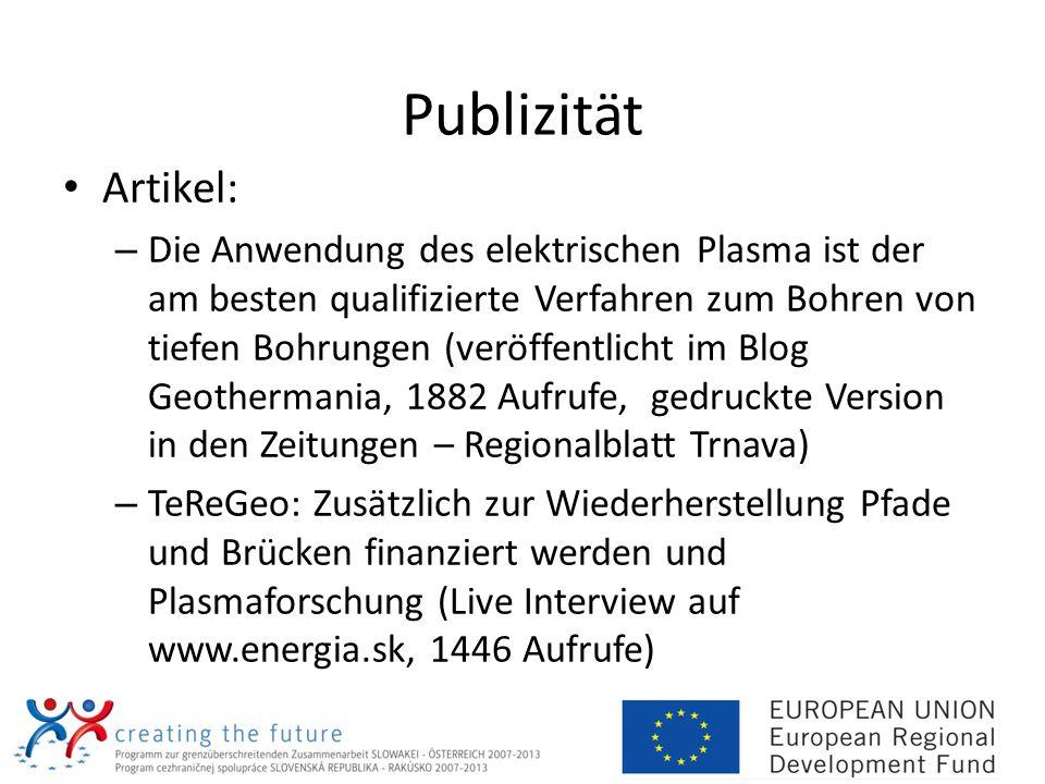 Publizität Artikel: – Die Anwendung des elektrischen Plasma ist der am besten qualifizierte Verfahren zum Bohren von tiefen Bohrungen (veröffentlicht