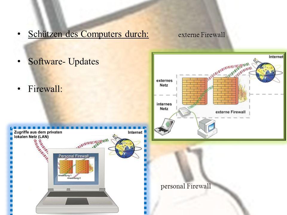 Anti- Viren- Programme Anti- Spyware- Programme