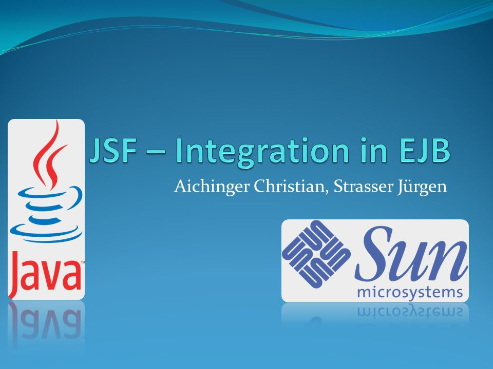 Inhalt JSF EJB Praxis - Integration
