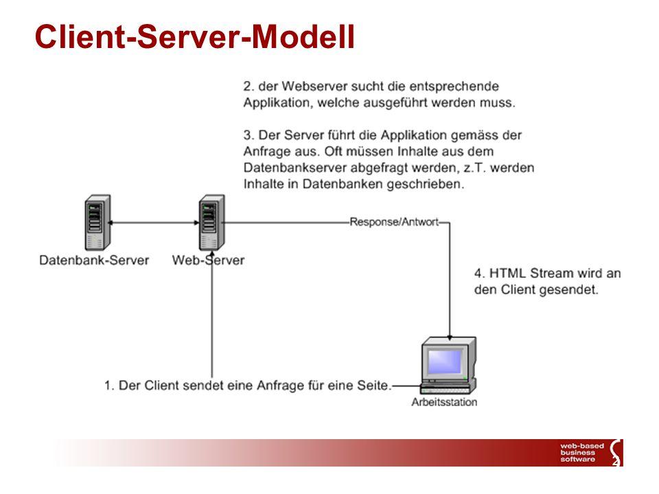 2 Client-Server-Modell