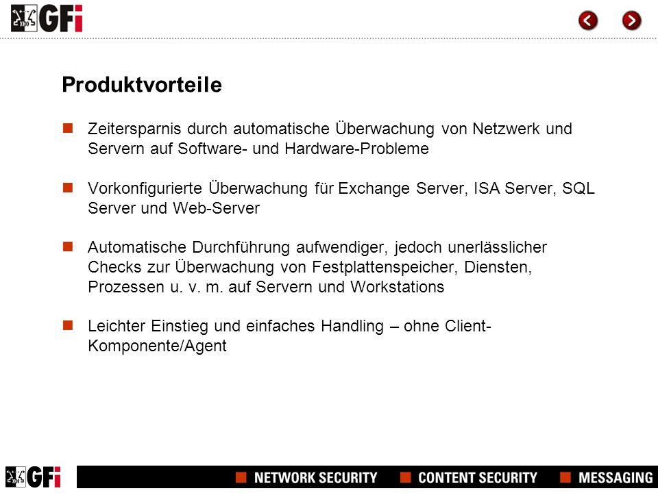 Funktionsweise von GFI Network Server Monitor