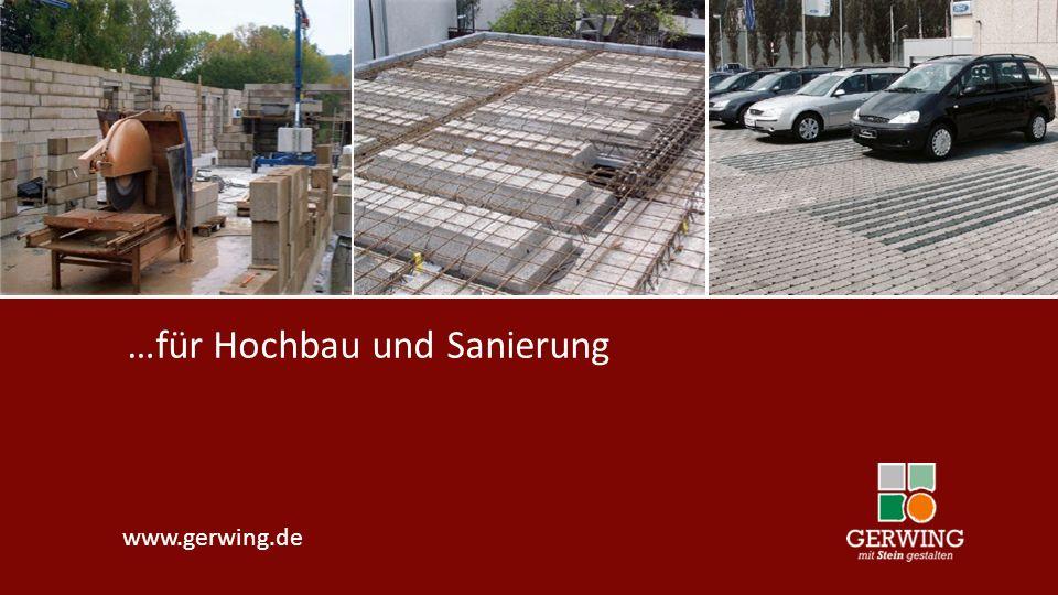 www.gerwing.de …für Hochbau und Sanierung