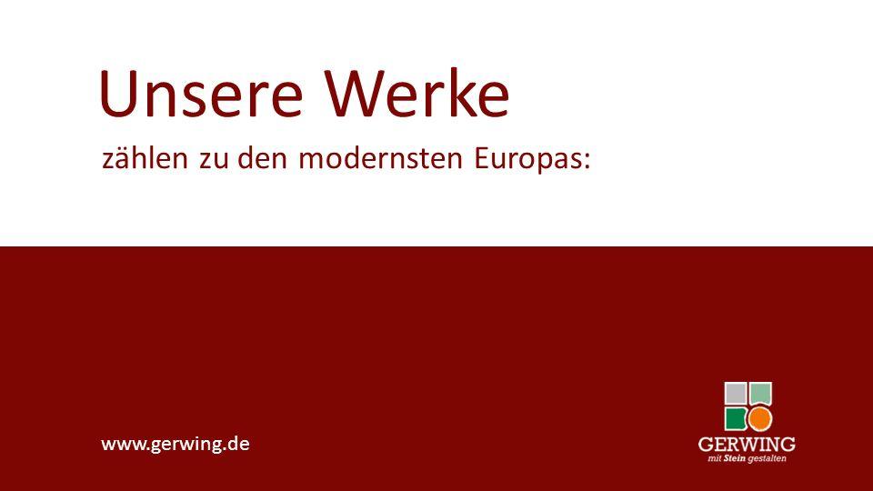 www.gerwing.de Unser Know-how garantiert den nötigen Vorsprung: