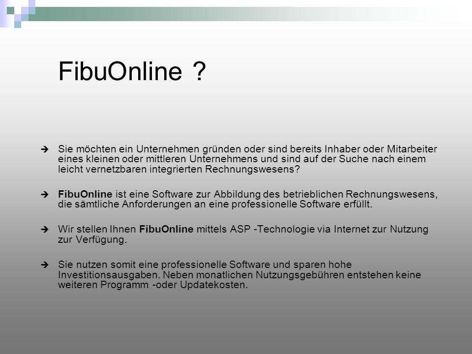 FibuOnline arbeiten wo Sie wollen