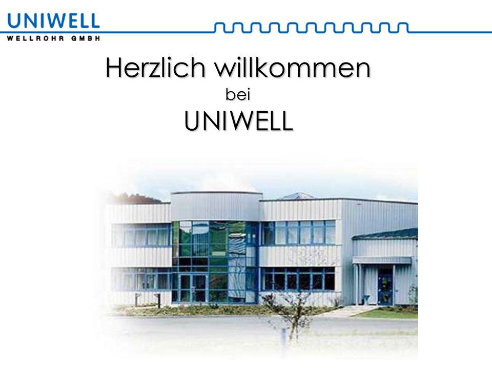 Standort Unitube Geschichte 2005 Übernahmeder HAKA-Technologie als UNITUBEGmbH 2005 Start eines Vertriebsbüro in Frankreich 2006 Expansion der Fertigung (+10.000m²)